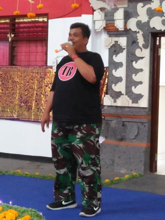 PELEPASAN KKN MAHASISWA UNIPERSITAS UDAYANA
